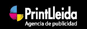 Printlleida. Logo agencia publicidad
